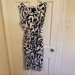 Alfani Sleeveless Shirt Dress with Pockets